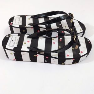 Kate Spade New York Wedge Flip Flop Sandals
